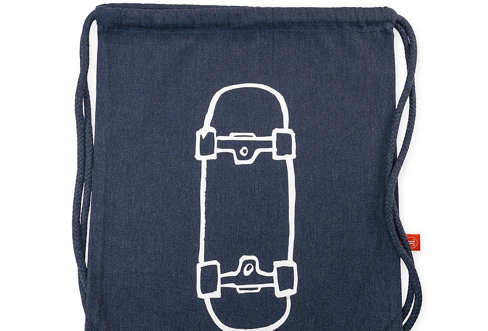Turnbeutel // Skateboard