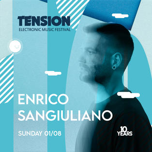 """Enrico Sangiuliano produziert seit den 90er Jahren elektronische Musik, seinen grossen Durchbruch hatte er aber erst 2015 mit seinem Remix von DJ Boris's """"Can You Hear Me"""". Seither ist der Italiener eines der Aushängeschilder vom Adam Beyer Label """"Drumcode""""."""