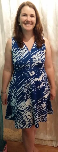 Blue Dress - Happy Guest (2)