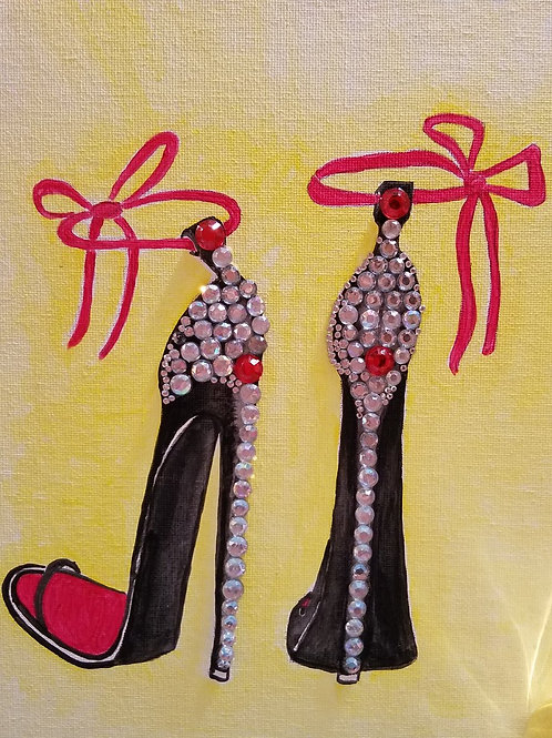 Stiletto Bling Painting