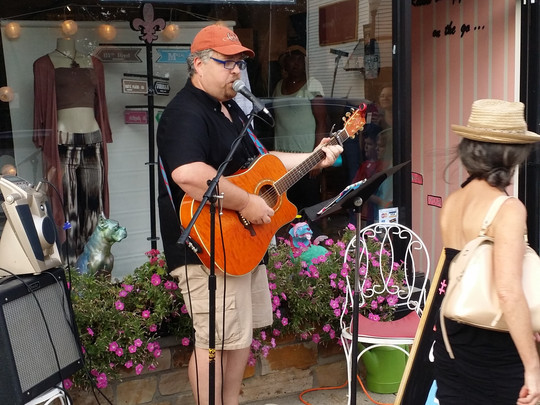 Music on Main - First Friday, Sept. 2nd
