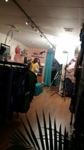 The making of a Commercial at our little shop...