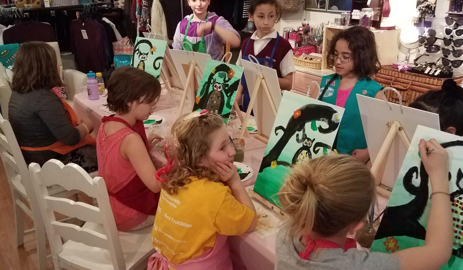 Girl Scouts Troop #95735 Owl - Feb 24-6.