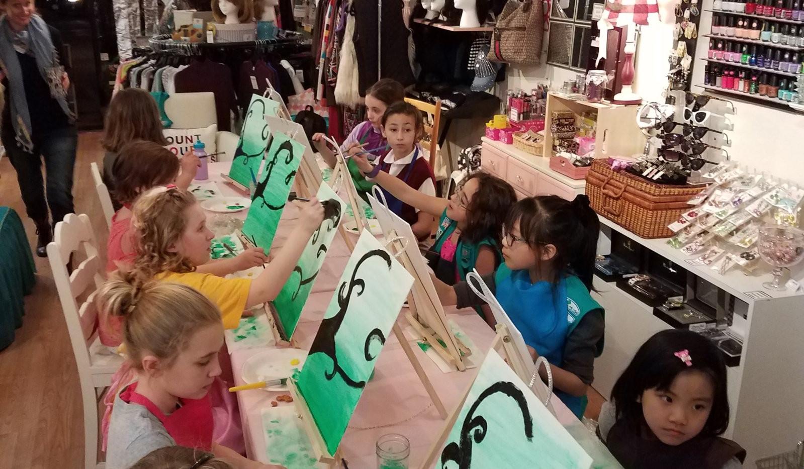 Girl Scouts Troop #95735 Owl - Feb 24-2.