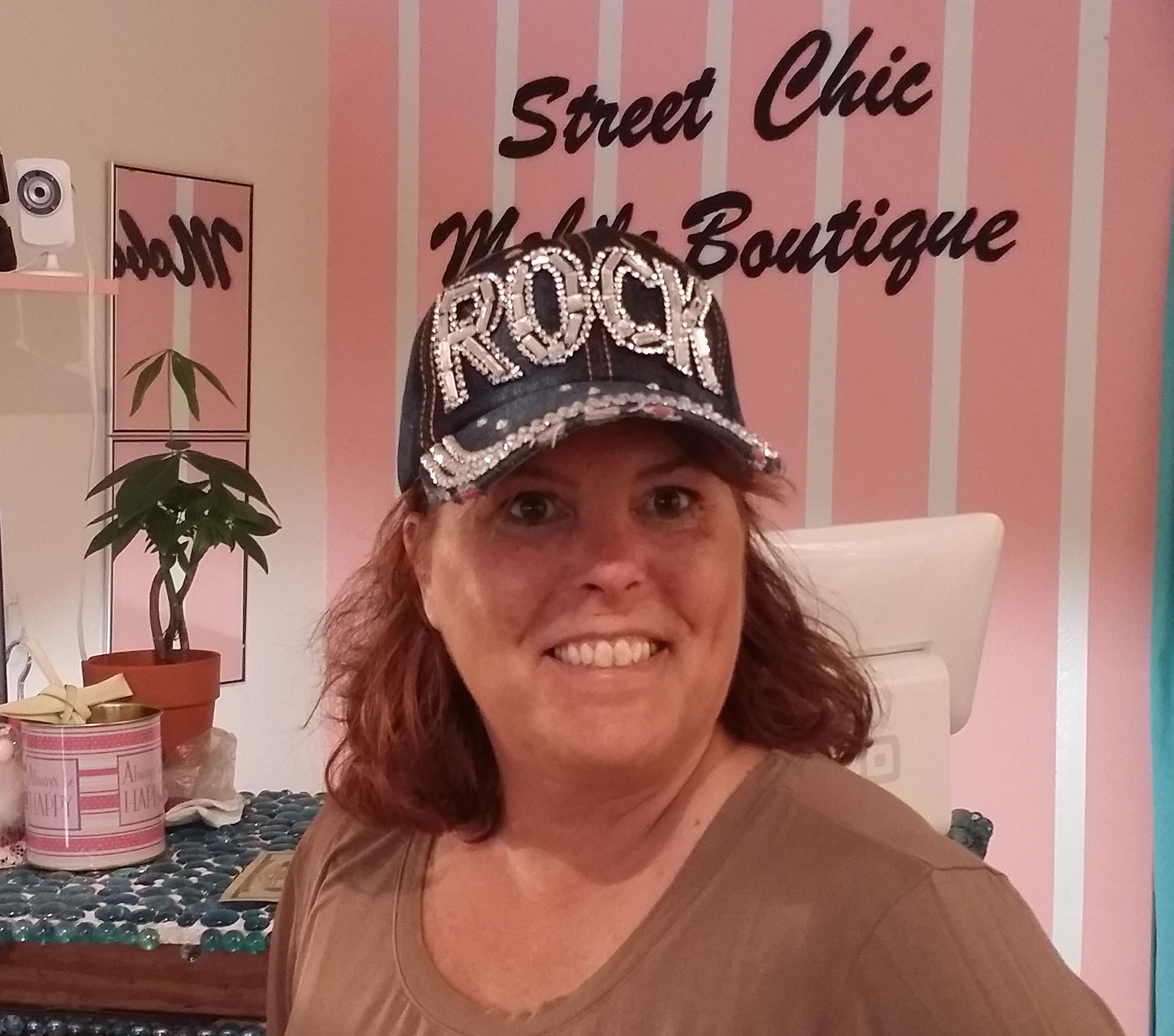 Rock hat customer