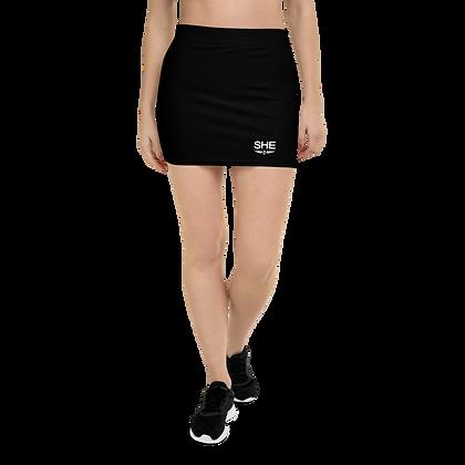 SHE Classic Black Mini Skirt