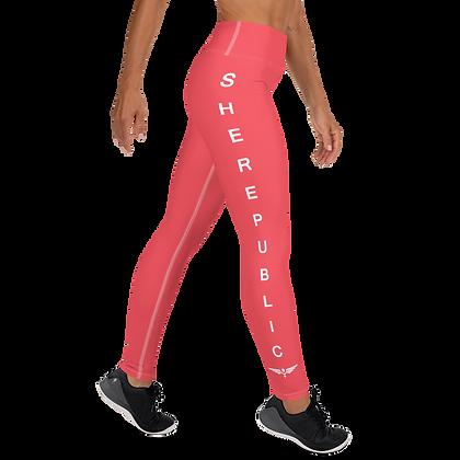 SHE Red Leggings