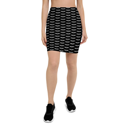 SHE All Wings Pencil Skirt