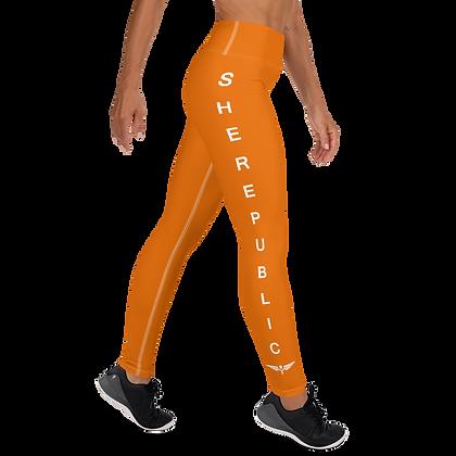 SHE Orange Leggings