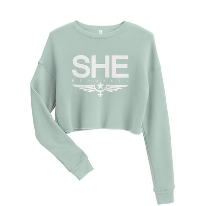 SHE Classic Crop Sweatshirt