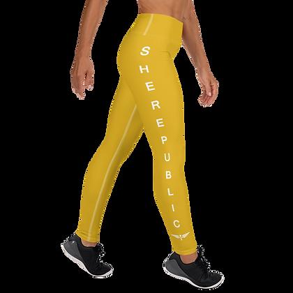 SHE Yellow Leggings