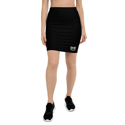 SHE Black  Pencil Skirt