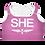 Thumbnail: SHE Violet Padded Sports Bra