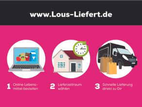 Lou's Liefert – Lebensmittelservice