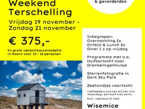 Ga mee op Photowalk naar Terschelling in november 2021