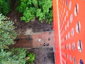 Maak eens een foto vanaf het nieuwe Geheugenbalkon in Groningen