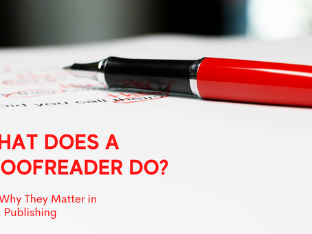 What Does a Proofreader Do?