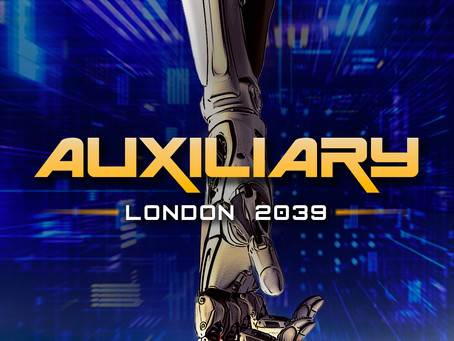 Book Review for Auxiliary: London 2039 by Jon Richter