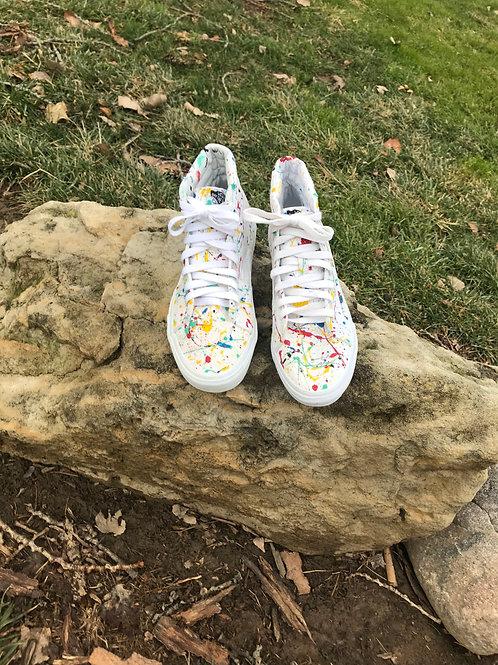 Splatter Paint Vans