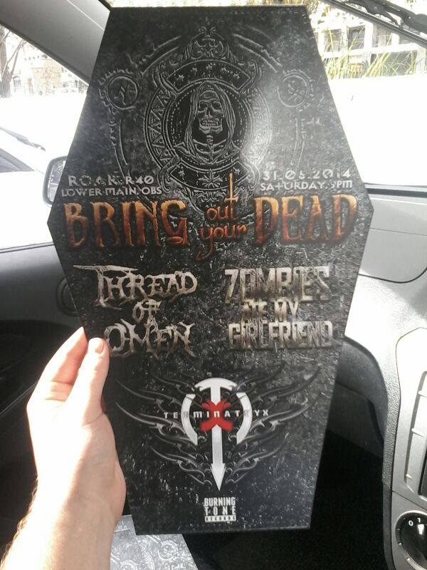 Bring out your Dead poster