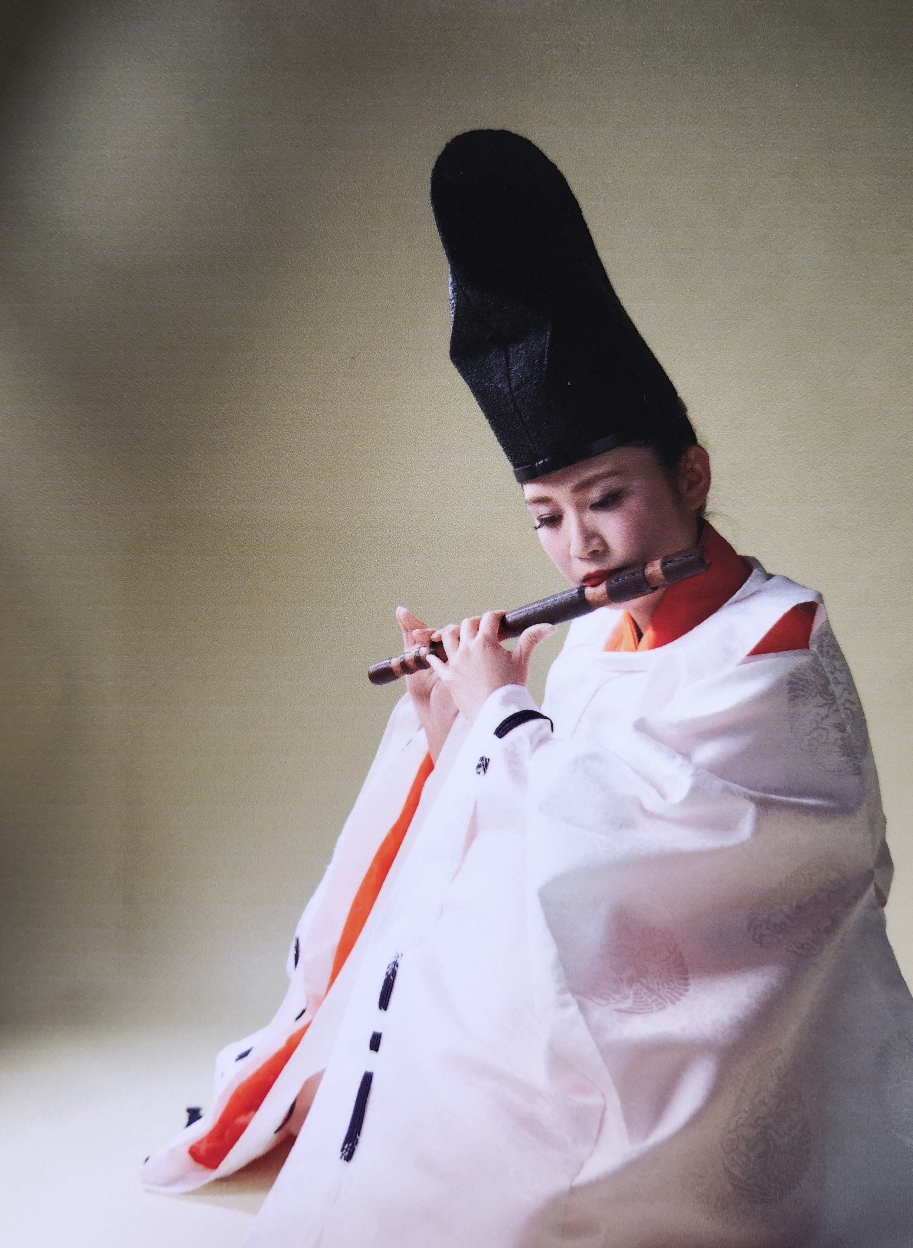 清田 裕美子 Yumiko Kiyota(龍笛)