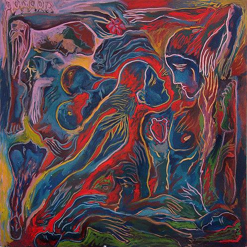 Crónicas del Paraíso Perdido IV - Juan de la Cruz Digital Art