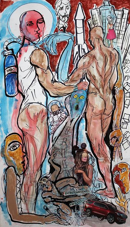 Volatile Times - Juan de la Cruz Digital Art