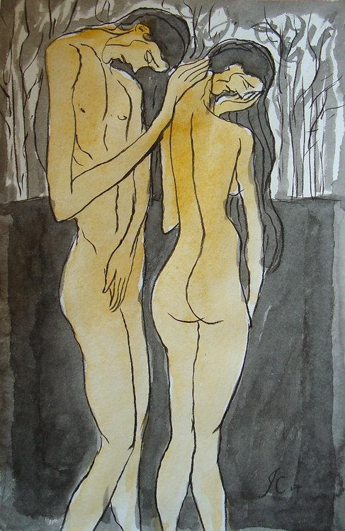 De lo Insignificante XII - Juan de la Cruz Digital Art