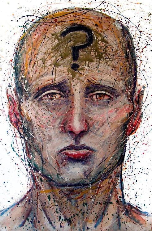 Question II - Juan de la Cruz Digital Art