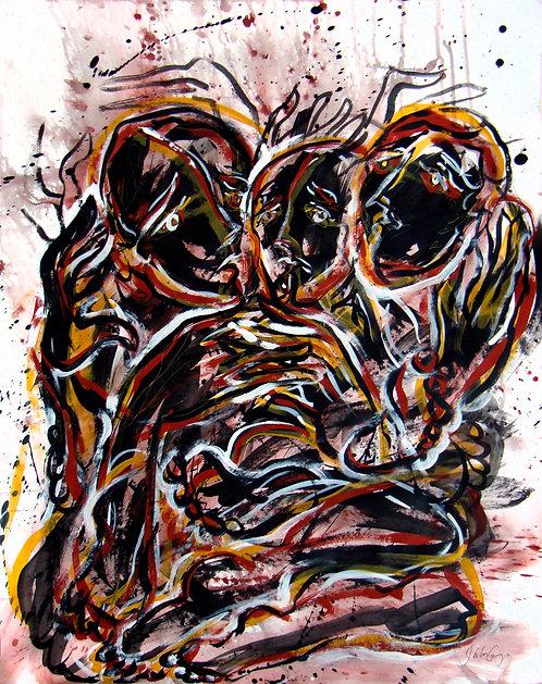 Elucubraciones XXVII - Juan de la Cruz Digital Art