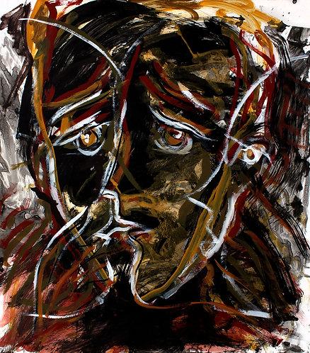 Rostros Cotidianos XXXIX - Juan de la Cruz Digital Art