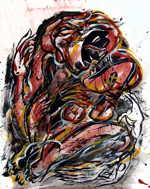 Elucubraciones XXVI - Juan de la Cruz Digital Art