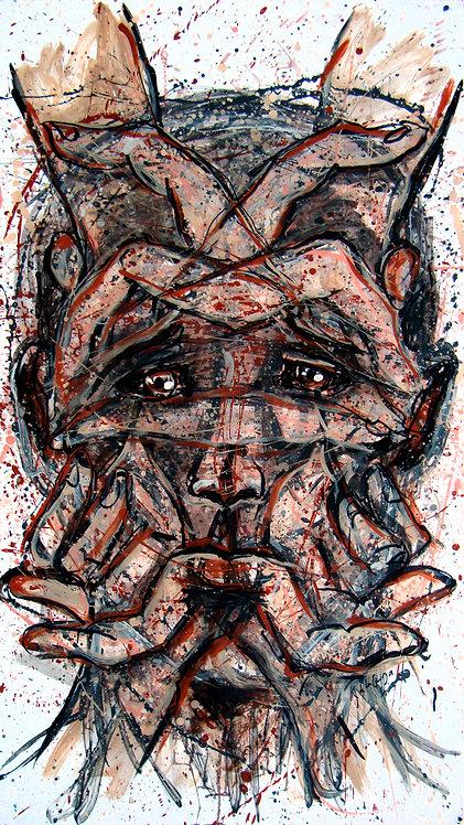 Metanoia V - Juan de la Cruz Digital Art