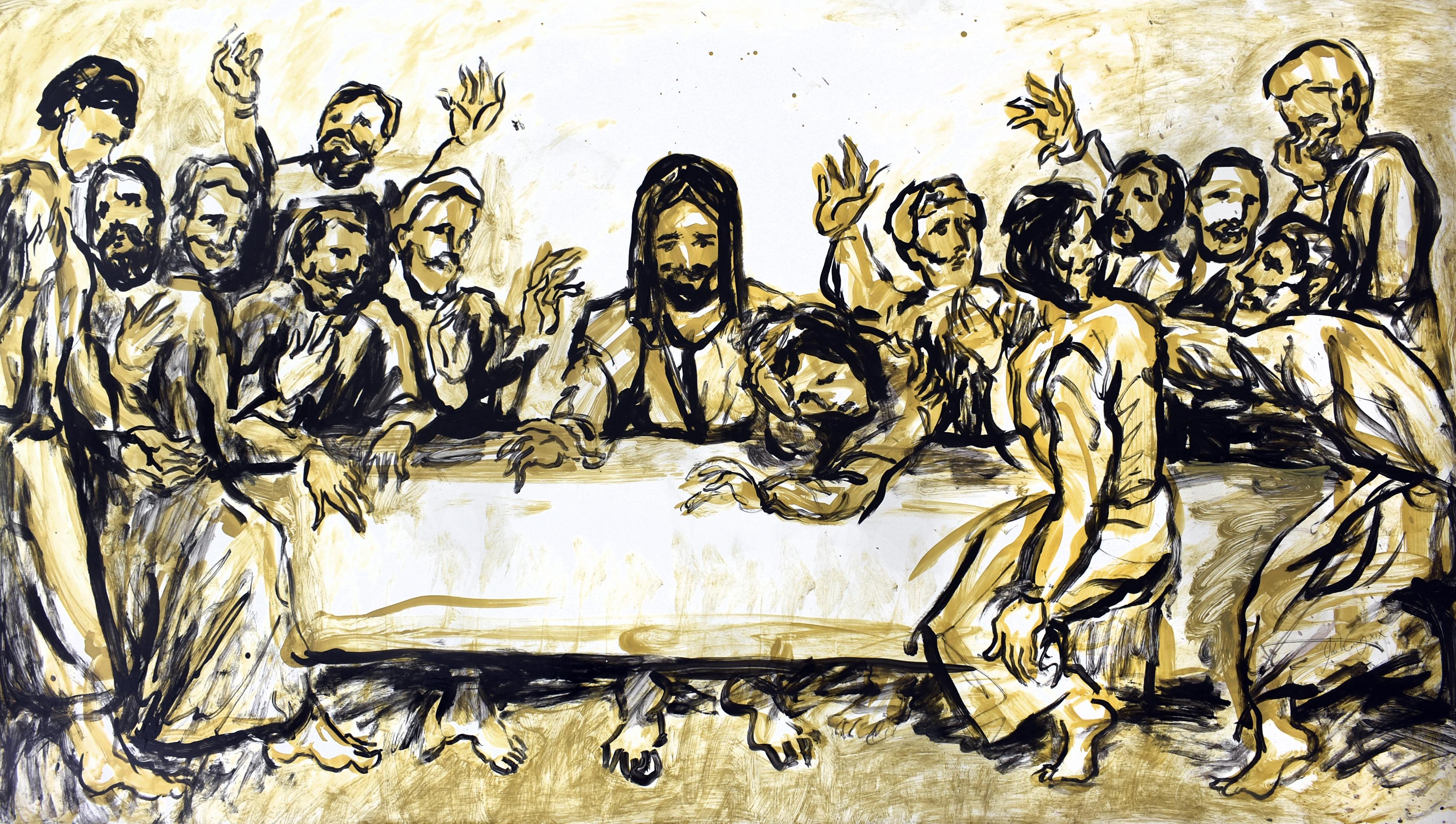 La última cena VI