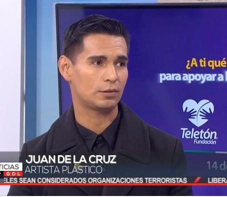 Juan de la Cruz en Televisa Guadalajara