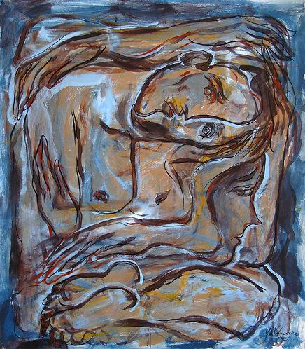 A Solas IX - Juan de la Cruz Digital Art