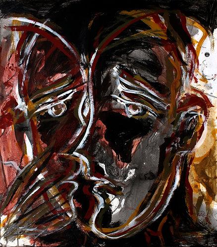 Rostros Cotidianos XLIII - Juan de la Cruz Digital Art