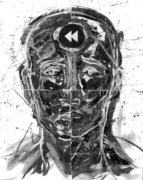 Rewind - Juan de la Cruz Digital Art
