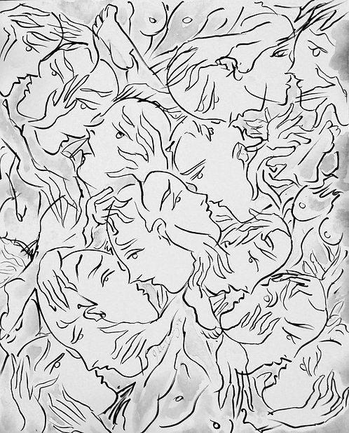 Elucubraciones XIII - Juan de la Cruz Digital Art