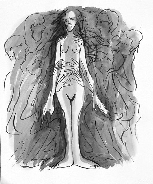 Elucubraciones III - Juan de la Cruz Digital Art