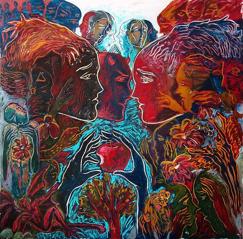 Crónicas del Paraíso Perdido II - Juan de la Cruz Digital Art