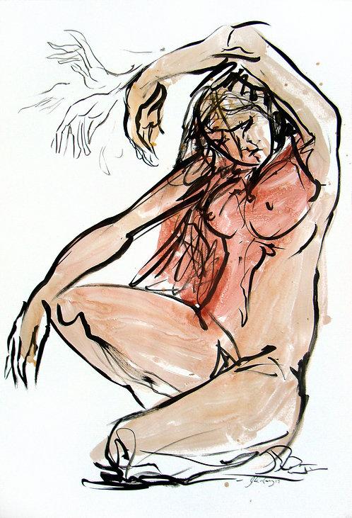 Estudios Anatómicos IV - Juan de la Cruz Digital Art