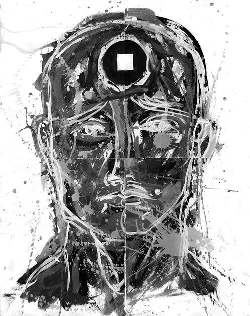 Stop - Juan de la Cruz Digital Art