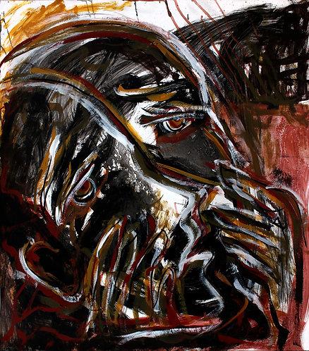 Rostros Cotidianos XXXVII - Juan de la Cruz Digital Art
