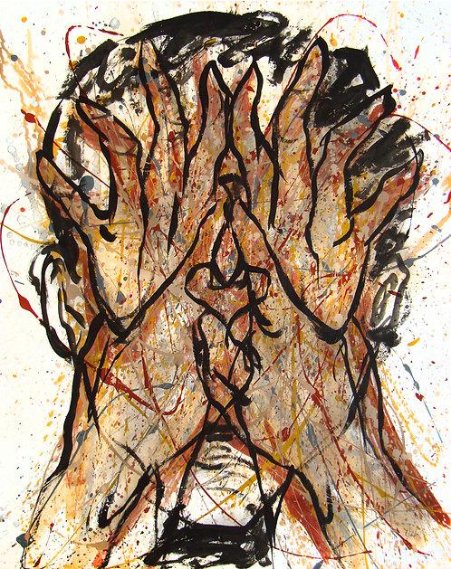 Metanoia IV - Juan de la Cruz Digital Art
