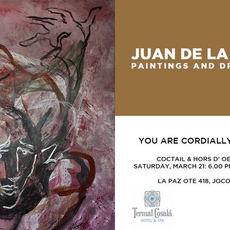 Exposición de pinturas y dibujos en Jocotepec