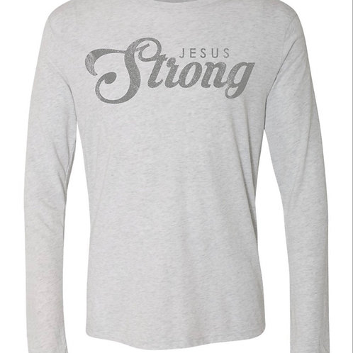 Jesus Strong Long Sleeve T-shirt