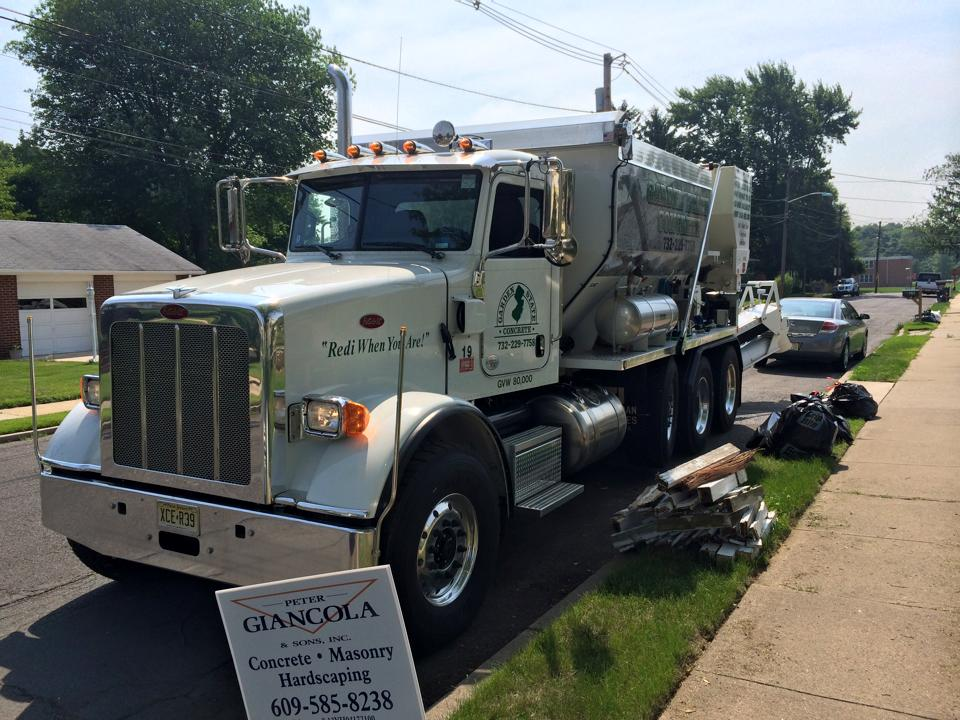 Garden State Concrete arrives