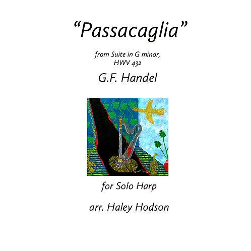 """Passacaglia"" by Handel, arr. Haley Hodson(for Solo Harp)"