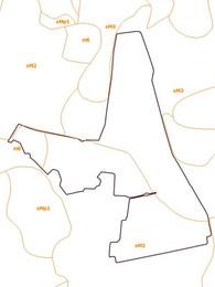 Vēsturiskā augsnes granulometriskā sastāva karte.